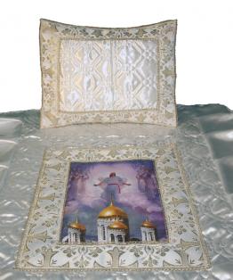 Комплекты ритуальных покрывал 2-х предметные